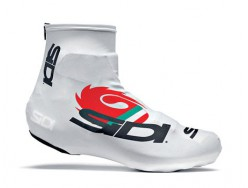 Couvre-chaussures Route SIDI Chrono Blanc Tricolore