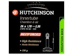 Chambre à air VTT HUTCHINSON Reinforced 26x1.70 à 2.35 Schrader 35mm