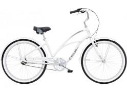 VTC Femme ELECTRA Cruiser Lux 3I Femme Blanc 2020