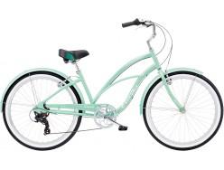 VTC Femme ELECTRA Cruiser Lux 7D Femme Vert 2020