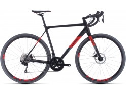Vélo de cyclocross CUBE Cross Race black´n´red