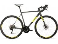 Vélo de cyclocross CUBE Cross Race Pro grey´n´flashyellow
