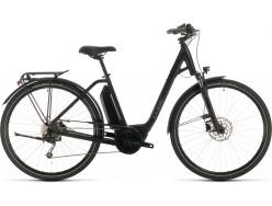 VTC électrique CUBE Town Sport Hybrid ONE 400 black´n´grey Easy Entry