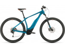 VTT électrique CUBE Acid Hybrid ONE 400 29 blue´n´orange
