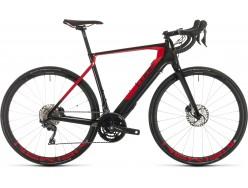 Vélo de route électrique Route CUBE Agree Hybrid C:62 SL carbon´n´red
