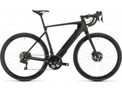 Vélo de route électrique Route CUBE Agree Hybrid C:62 SLT black edition