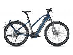 VTC électrique KALKHOFF Endeavour 7.B Excite 45 Trapèze Gris Bleu 625Wh 2020
