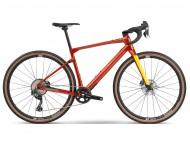 Vélo de cyclocross BMC UnReStricted Two GRX 800 Di2 Rouge Jaune