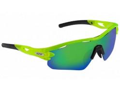 Lunettes Route AZR Coffret Tour RX Crystale Vert fluo / Ecran vert (+2 écrans)