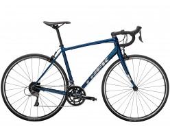 Vélo de course TREK Domane AL 2 Gloss Mulsanne Blue Matte Black
