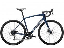 Vélo de course TREK Domane AL 2 Disc Gloss Mulsanne Blue Matte Black