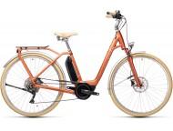 VTC électrique CUBE Ella Ride Hybrid 400 red´n´grey Easy Entry