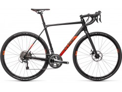 Vélo de cyclocross CUBE Cross Race black´n´red