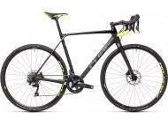 Vélo de cyclocross CUBE Cross Race C:62 Pro carbon´n´flashyellow