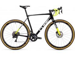 Vélo de cyclocross CUBE Cross Race C:62 Team Edition carbon´n´flashyellow