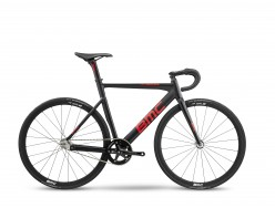 Vélo de piste BMC Trackmachine AL One Miche Noir Rouge Carbone