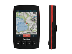 Compteur GPS TWONAV Trail 2 Bike Rouge