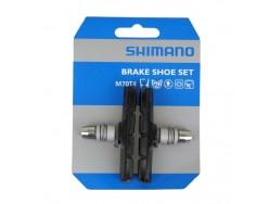 Patins de frein VTT SHIMANO V-brake M70T4 à visser