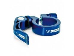 Collier de selle XLC PC-L04 bleu avec serrage rapide