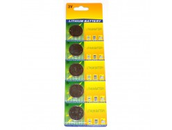 Piles PNA CR2032 Lithium - Pack de 5 piles
