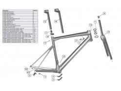 Guide cable BMC Kit mécanique #1