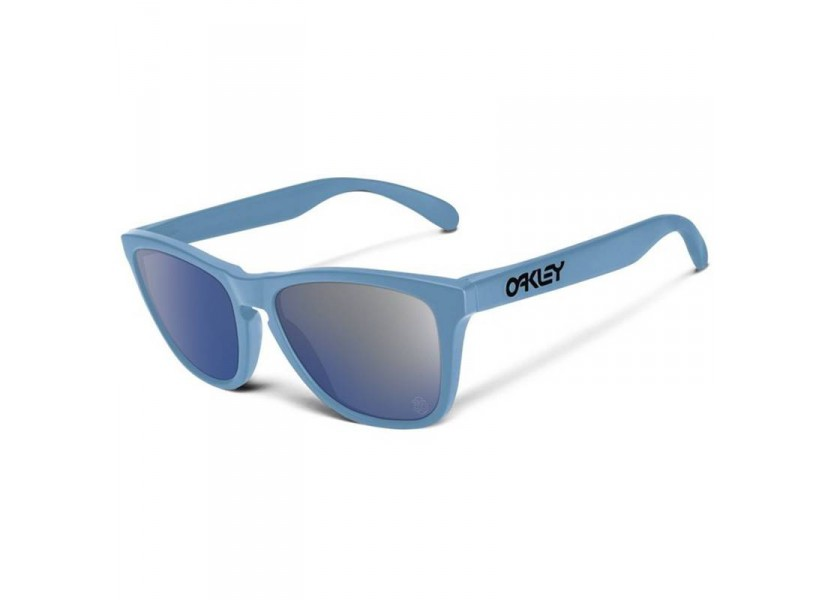 Lunettes Blue Ice Iridium Oakley Heritage Frogskins A4Lc5S3Rqj