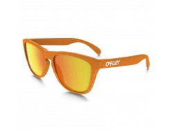 Lunettes OAKLEY Frogskins Fingerprint Atomic Orange - Fire Iridium