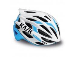 Casque Route KASK Mojito Blanc Bleu