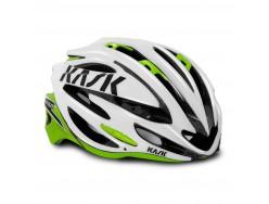 Casque Route KASK Vertigo 2.0 Blanc Vert clair