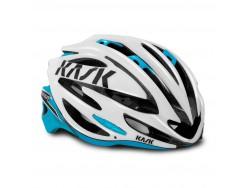 Casque Route KASK Vertigo 2.0 Blanc Bleu ciel