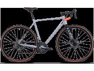 Vélo de cyclocross CUBE Cross Race grey´n´orange