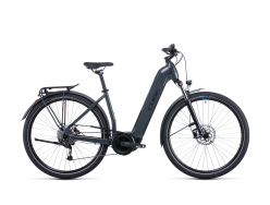 VTC électrique CUBE Touring Hybrid ONE 400Wh grey´n´blue Easy Entry