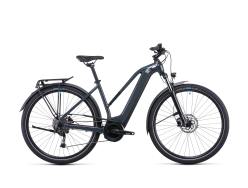 VTC électrique CUBE Touring Hybrid ONE 400Wh grey´n´blue Trapeze