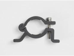 Fixation pour porte-bidon BONTRAGER Collier pour Cintre 31,8mm Noir