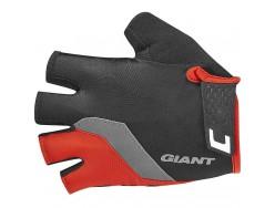 Gants Longs Route GIANT Tour Noir Rouge