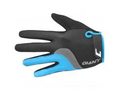 Gants Longs Route GIANT Tour Noir Bleu