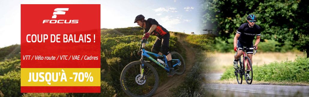 Bénéficiez de promotions affolantes sur les vélos Focus chez WAREEGA