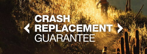 crash replacement Bontrager guarantee