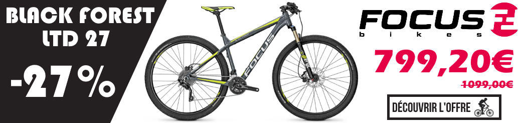 Déstockage  VTT FOCUS LTD 27